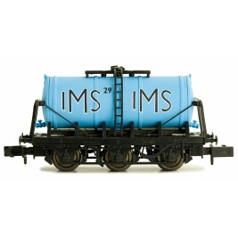 2F-031-010 N Gauge 6 Wheel Milk Tanker   IMS