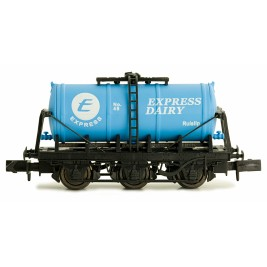 2F-031-012 N Gauge 6 Wheel Milk Tanker   Express Dairy 'E'