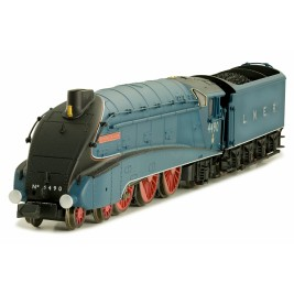 2S-008-009D N Gauge A4  Valanced Empire of India 4490  Garter Blue LNER DCC FITTED
