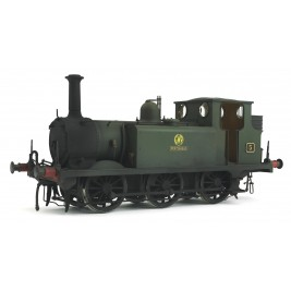 7S-010-008W Terrier A1X Portishead 5 GWR Green Weathered