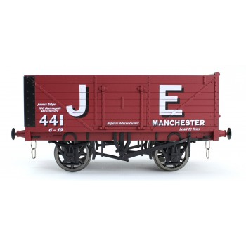 7F-071-018 O Gauge 7 Plank Open Wagon  James Edge