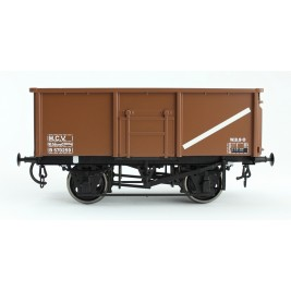 304-6 O Gauge 16T Steel Mineral Wagon BR Welded Body Vac pipe fitted