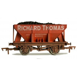 4F-033-103 OO Gauge 24 Ton Steel Ore  Hopper RICHARD THOMAS Weathered