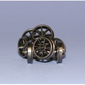 WHEELSSPOKE OO Gauge Pack of 20 Spoked Wagon Wheels