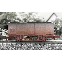 2F-038-006 N Gauge 20T Mineral Wagon BR Weathered
