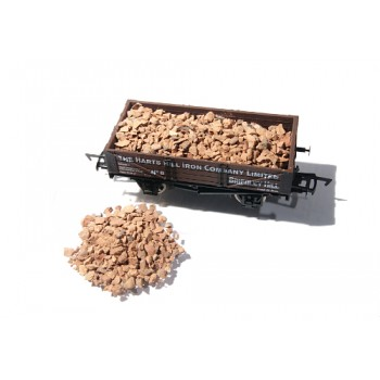 4S-000-002 OO Gauge Iron Ore Load Kit (Real Iron Ore) Approx 39g