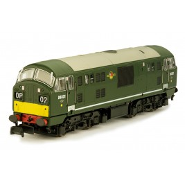2D-012-005D N Gauge CLASS  22  BR Green Small Yellow Panel Font A D6331 DCC Fitted