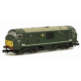 2D-012-008D N Gauge Class 22 BR D6311 DISC HEADCODE SYP DCC FITTED