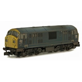 2D-012-012 N Gauge CLASS  22  BR BLUE 6330 FYP WEATHERED