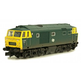 2D-018-002D  N Gauge Hymek  D7026 BR Blue FYP Powered Weathered DCC Fitted