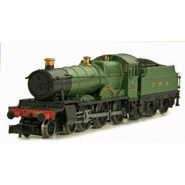2S-001-003 N Gauge Broome Manor 7805 GWR Green