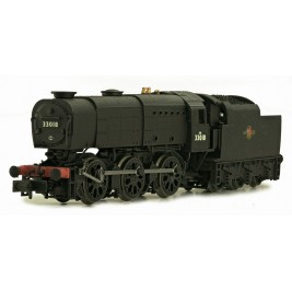 2S-021-002D  N Gauge Q1  BR Late Crest 33018 DCC Fitted