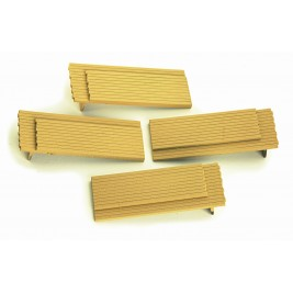 4A-000-012 OO Gauge  Timber Loads For Dapol 10ft Wheelbase wagons (pack of 4)