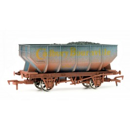 4F-034-002 OO Gauge 21 Ton Hopper Cadbury Bournville 156 Weathered