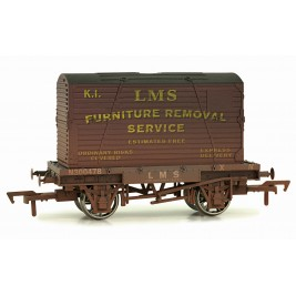 4F-037-010 OO Gauge Conflat & Container LMS K1 Weathered