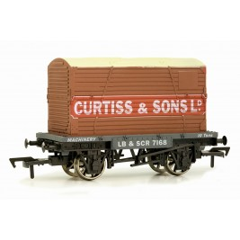 4F-037-108 OO Gauge Conflat & Container Curtiss & Sons