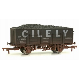 4F-038-105 OO Gauge 20 Ton Steel Mineral Wagon Cilely Weathered