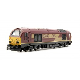 ND101JD  N Gauge CLASS  67  EWS  MAROON POWERED # 67030 DCC Fitted