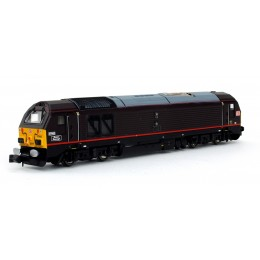 2D-010-007  N Gauge CLASS  67 67005 Queens Messenger  Royal Claret