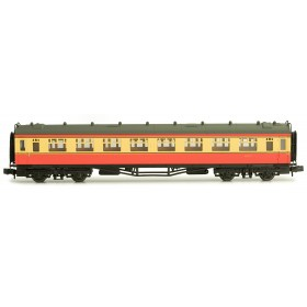 2P-000-134 N Gauge Collett Coach BR Crimson/Cream Second W1117