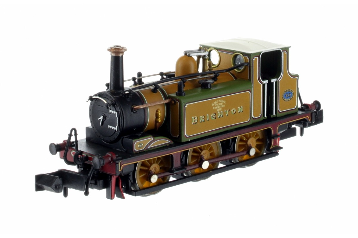 2S-012-009 N Gauge Terrier A1 LBSC Stroudley Improved Green Brighton Gold