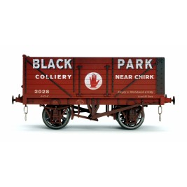7F-071-037W O Gauge 7 Plank Black park Chirk 2028 Weathered