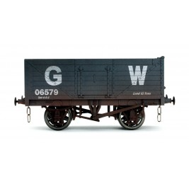 7F-071-032W O Gauge 7 Plank Open Wagon  GWR 06579 Weathered