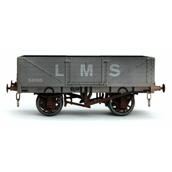 7F-051-035W O Gauge 5 Plank LMS 24380 Weathered